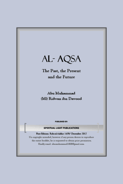 Al Aqsa-Past, Present and Future